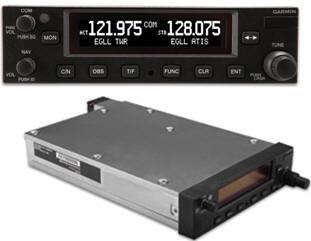 Garmin Introduces New Series of Aviation VHF COM and NAV/COM Radios