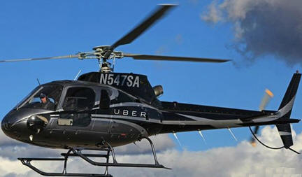 Airbus And Uber To Provide Smartphone Helicopter Service