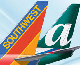 Southwest airlines merger