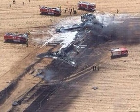 Airbus A400M Military Transport Aircraft Crashes On A First