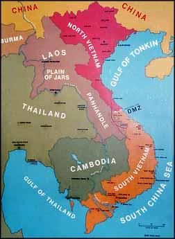 Dien Bien Phu Vietnam Map.The French Defeat At Dien Bien Phu