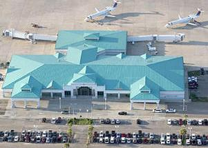 Panama City-Bay County International Airport is located ...