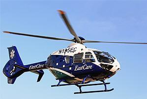 Pitt County Memorial Hospital Gets EC135 Eurocopter